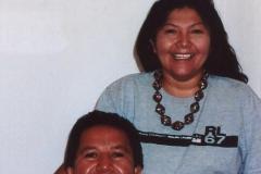 Charlene und Frank Reano (San Felipe/Kewa)