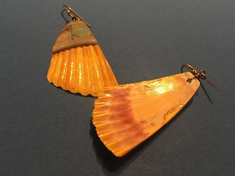 , Shannon Tenorio (Kewa) – Muschelhänger mit Mosaic Inlay, Indianer - Schmuck und Kunsthandwerk - prairie wind