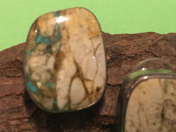 Bill Mex (Navajo) – Ohrstecker mit Stein