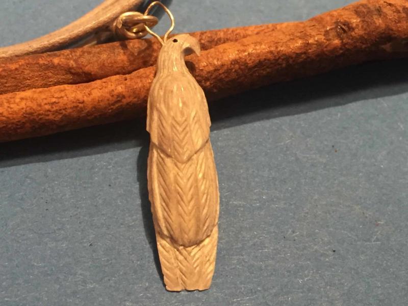, Lewis Malie (Zuni) – Adleranhänger, Indianer - Schmuck und Kunsthandwerk - prairie wind