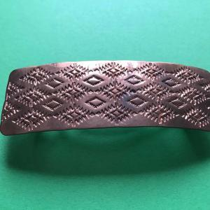 Alvin Todacheene (Navaho) - Haarspange aus Kupfer