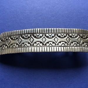 Alvin Todacheene (Navaho) - Haarspange aus Silber