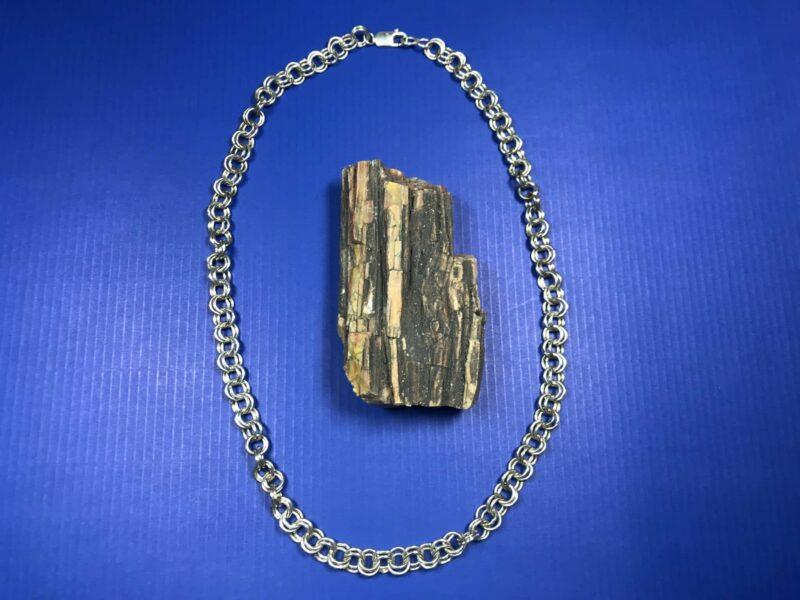 Brandon Gchachu (Zuni) – Silberkette