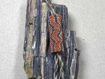 Chet Cordell (Dakota) – Bolo Tie aus Pferdehaar