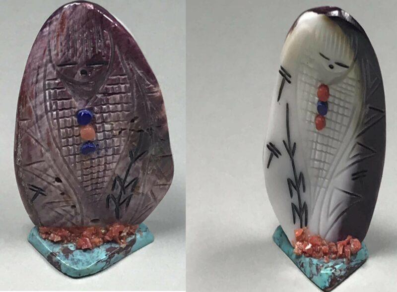 Gloria Chattin (Zuni) – Cornmaiden Skulptur