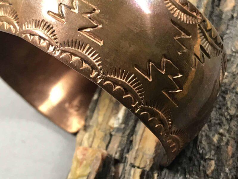 Lorenzo Coriz (Kewa) – Kupferarmreif mit Wettersymbolen