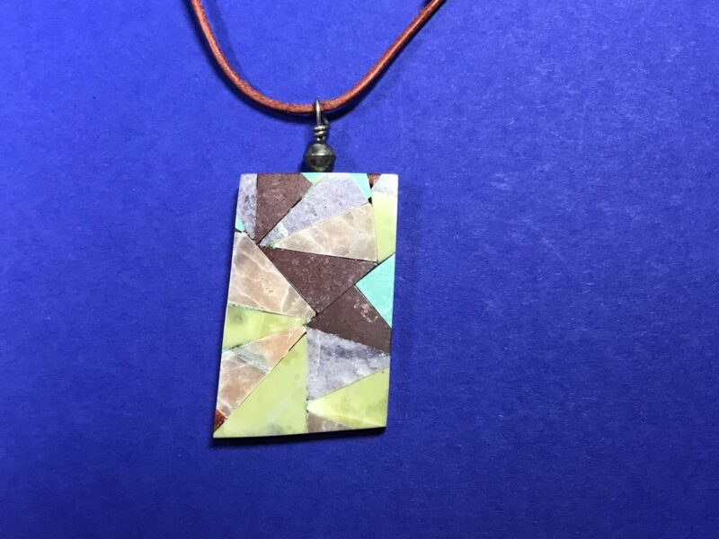 Paul Coriz (Kewa) – Anhänger mit Mosaic Inlay