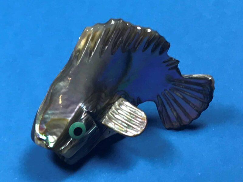 Philbert Beyuka (Zuni) – Springender Fisch