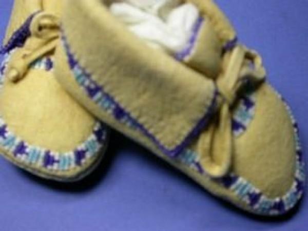 D. Passmore & K. Anderson (Blackfeet) - Baby Moccasins
