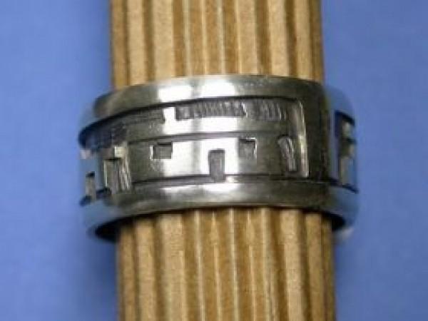 Ray Namingha (Hopi) - Overlay Fingerring (Puebloszene)