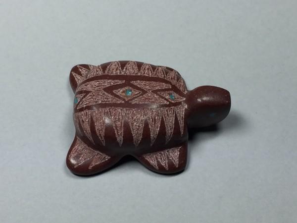 Brandon Phillips (Zuni) - Schildkröte