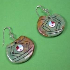 Ohrringe - Indianer - Silberschmuck